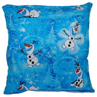 Frozen Olaf Reversible 11-inch x 10-inch Throw Pillow