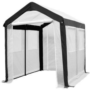 Abba Patio Large Walk-in Fully Enclosed Lawn and Garden Greenhouse with Windows