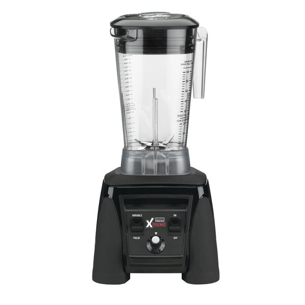 Waring Commercial MX1200XTX Xtreme Hi-Power Variable-Speed Food Blender + Raptor Copolyester Container, 64-Ounce (Refurbished)
