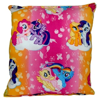 My Little Pony Rainbow Reversible 11-inch x 10-inch Throw Pillow