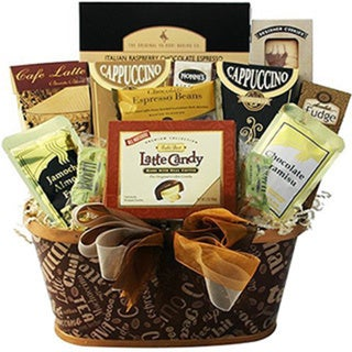 Crazy for Coffee Gourmet Food and Snacks Gift Basket 15693634