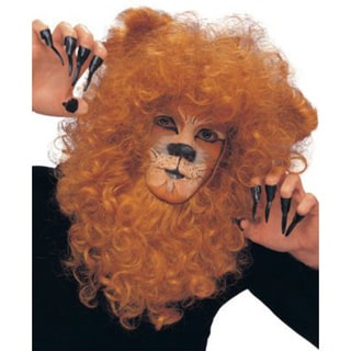 Adult Curly Hair Lion Mane Wig Costume Accessory