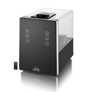 Heaven Fresh HF 710-Black Digital Ultrasonic Cool & Warm Mist Humidifier with Aroma Function
