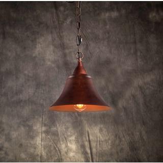 Willa 1-light Rusty Steel 12-inch Edison Chandelier
