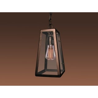 Bonnie 1-light Black 7-inch Edison Chandelier with Bulb