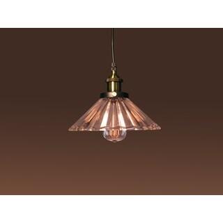 Shelby 1-light Glass Adjustable Height 10-inch Edison Pendant Lamp
