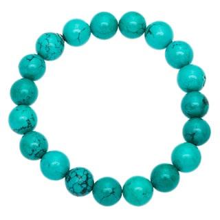 Turquoise Marcasite Beaded Bracelets (Set of 3)