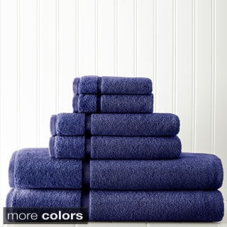 650 GSM 6-piece Luxury Towel Set With Sheared Border