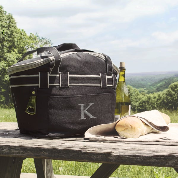 Personalized Collapsible Picnic Basket Cooler Tote