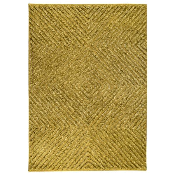 Indo Hand-tufted Buff Green Wool Area Rug (8'3 x 11'6)