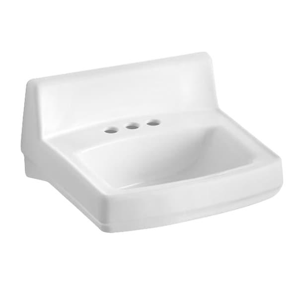 Kohler Greenwich Wall-mount Bathroom Sink in White - 17413308 ...