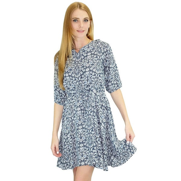 Women's Penny Lane Paisley Swing Dress