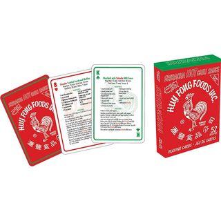 Sriracha Recipes Playing Cards Deck