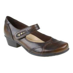 Women's Earth Clover Brown Brush Off Leather