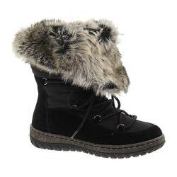 Women's Wanderlust Liv Waterproof Snow Boot Black/Black Suede