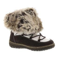 Women's Wanderlust Liv Waterproof Snow Boot Brown/White Suede