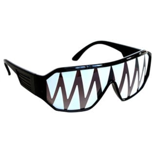 Macho Man Black Shark Tooth Sunglasses