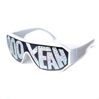 Macho Man White Ooo Yeah Sunglasses