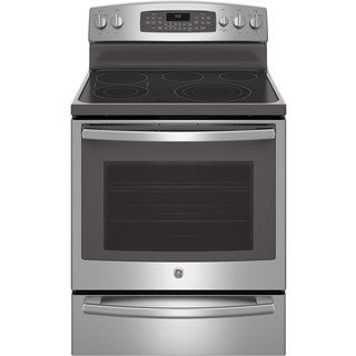 GE Profile Series 30-inch Free-standing Electric Convection Range with Warming Drawer