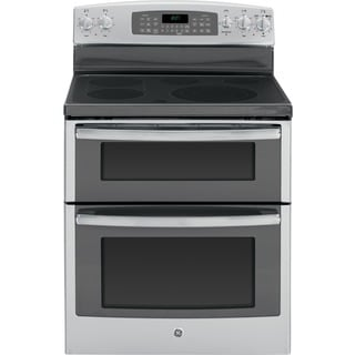 GE 30-inch Free-standing Electric Double Oven Range with Convection