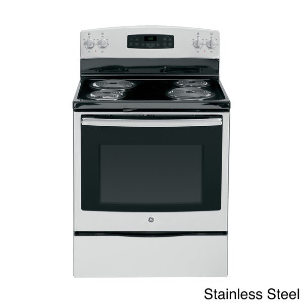 Ge 30 inch free standing electric range 17413582 shopping big discounts on - Inch electric range reviews ...