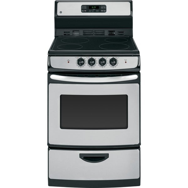 GE 24-inch Self Clean Free-standing Electric Range