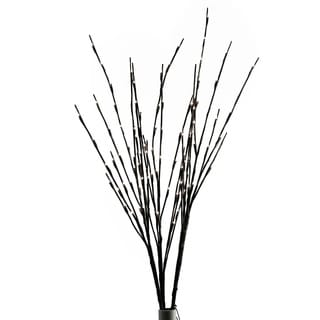 D and W Silks Lighted Willow Spray (109 Lights)