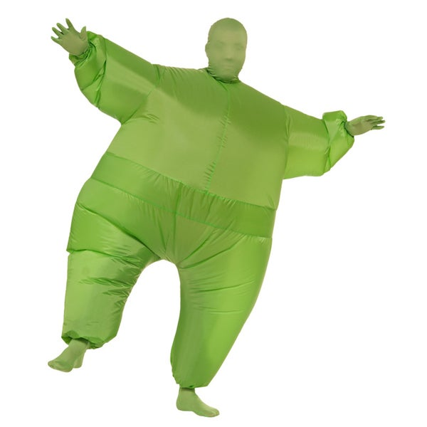 Green Infl8s Fat Suit Inflatable Costume