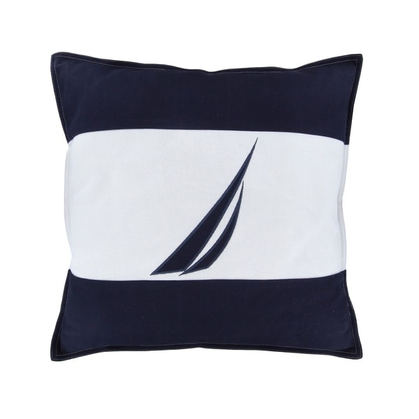 Nautica Mainsail Spinnaker Navy Decorative Pillow
