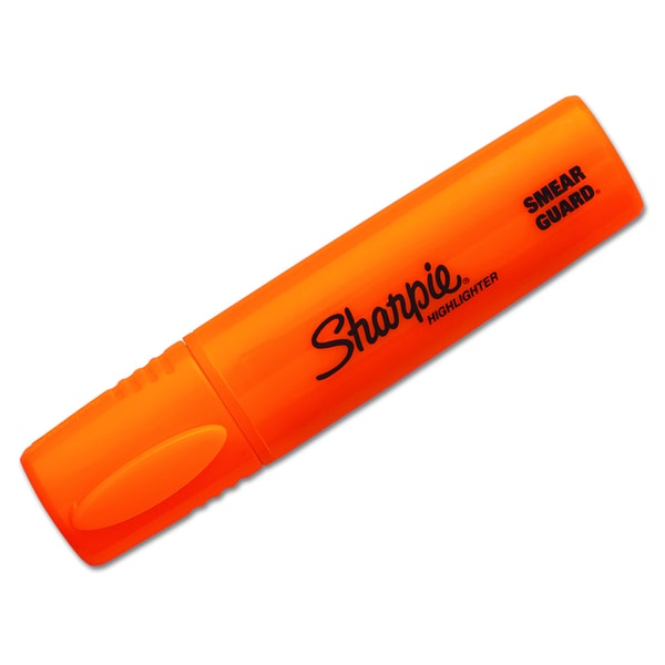 Sharpie Blade Orange Tip Highlighter (Pack of 10)