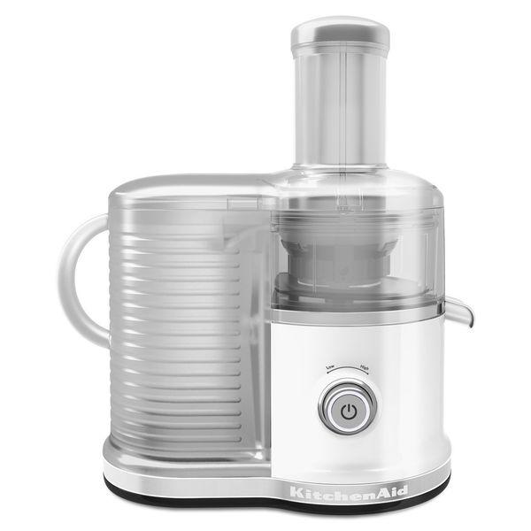 KitchenAid KVJ0333WH White Easy Clean Juicer
