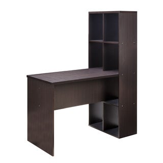 Comfort Products Soho Large Desk w/ Bookshelf
