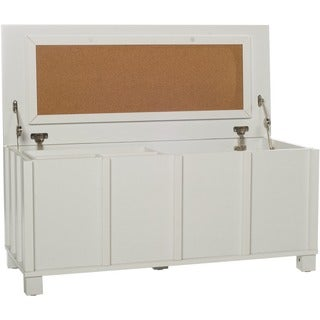 Home Storage Cork Filing Trunk with Organizer Tray