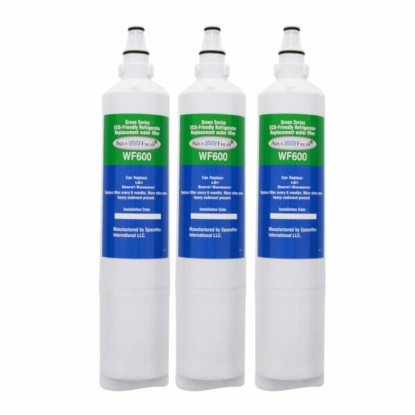 AquaFresh Refrigerator Accessories WF600 LG 5231JA2006A/LT600P Refrigerator Water Filter (3-Jam) AQUAFRESH-WF600-3PK