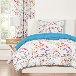 Crayola Splat Brushed Microfiber 3-piece Comforter Set