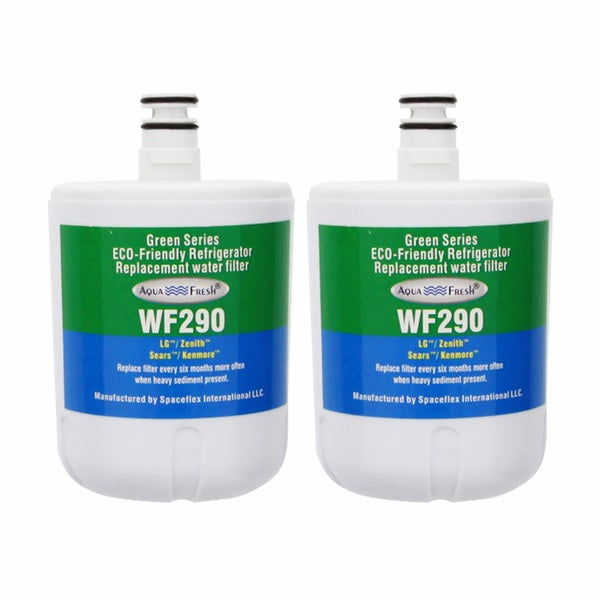 AquaFresh WF290, LG LT500P Comparable Refrigerator Water Filter (2 Pack)