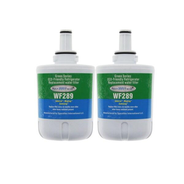 AquaFresh WF289, Samsung DA290003G Comparable Refrigerator Water Filter (2 Pack) 15696880