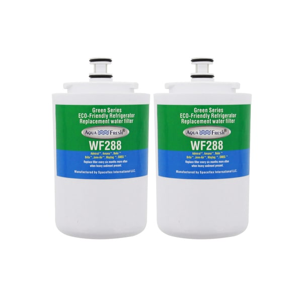 AquaFresh WF288, Maytag UKF7003 Comparable Refrigerator Water Filter (2 Pack)