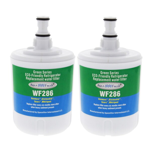 AquaFresh WF286, Whirlpool 8171413 Comparable Refrigerator Water Filter (2 Pack) 15696904
