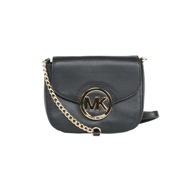 MICHAEL Michael Kors Black Fulton Small Crossbody