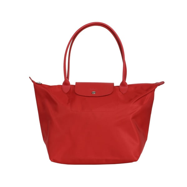 Longchamp Poppy Le Pliage Neo Small Tote Bag
