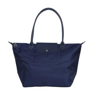 Longchamp Navy Le Pliage Neo Small Tote Bag