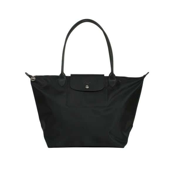 Longchamp Black Le Pliage Neo Small Tote Bag