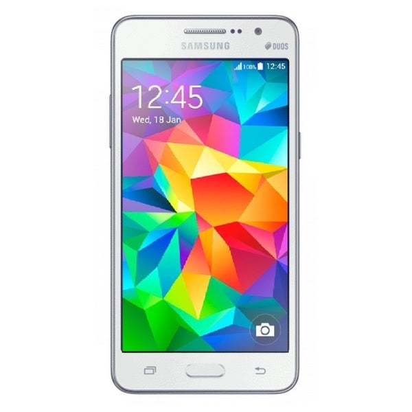 Samsung Galaxy Grand Prime DUOS G530H Unlocked GSM Android Phone - White (Refurbished)