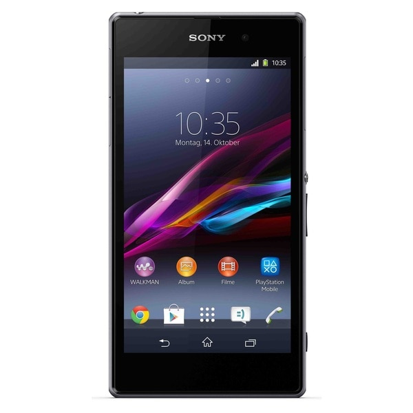 Sony Xperia Z1 C6902 16GB Unlocked GSM 20MP Shatter-Proof Cell Phone - Black