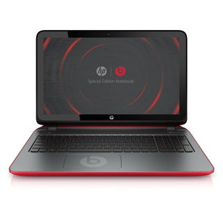 HP 15-P030NR 15.6-Inch Special Edition Touch-Screen Laptop with Beats Audio (Red) -- (Certified Refurbished Grade A)