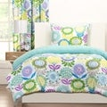 Crayola Pointillist Pansy 3-piece Comforter Set