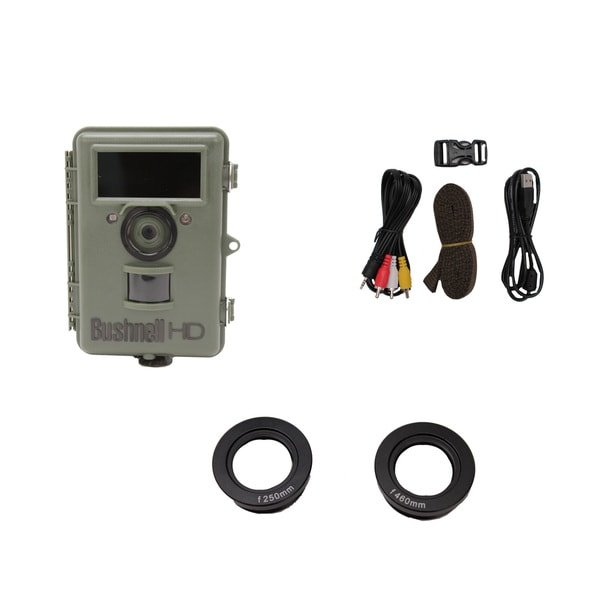 Bushnell NatureView HD Cam Olive Drab 8 MP Night Vision Max Text Display