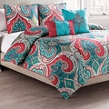 VCNY Casablanca Reversible 5-piece Comforter Set