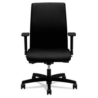 HON Ignition Series Black Fabric Upholstery Mid-Back Work Chair